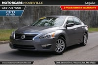 Nissan Altima 2015 Mount Juliet