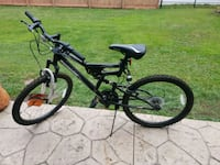 black full-suspension bike Green Bay, 54304
