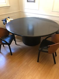 6ft Round Black Table Toronto, M6B