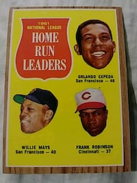 1962 Topps Willie Mays Springfield, 97478