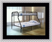 Full twin bunk bed frame 52 km