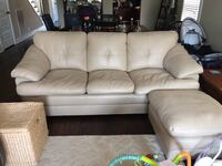 Leather Sleeper Sofa w/Ottoman Nashville, 37208