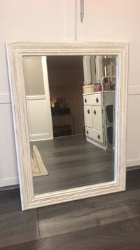 Shabby chic farmhouse solid wood mirror Fort Myers, 33908
