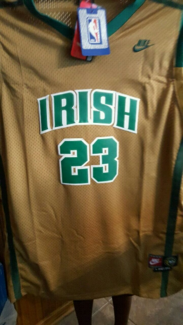 8ae53d36a378 Used  HOT LeBron High School Jersey for sale in Baton Rouge - letgo