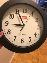 Small black clock from staples brand new never used  Toronto, M3A