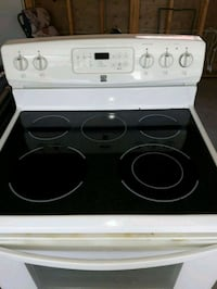 Kenmore glass top self cleaning stove Edmonton, T6X 1A4