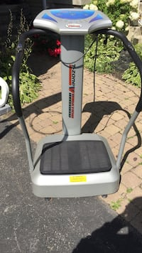gray and black T-Zone Vibration exercise machine Bowmanville, L1C 5B1