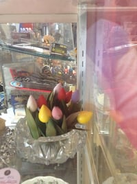 Wooden tulips - great idea for Mother's Day Montréal, H9A