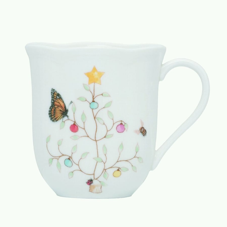 Lennox Butterfly Meadow set of 4 mugs f8a0e63a-f784-43a0-b25e-4f1db6568642