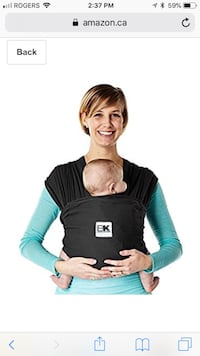 New Baby K'tan BREEZE Baby Carrier, X-Large London, N5V 4W4