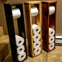 Toilet roll holders - Fall colours  Langley, V3A 9L4