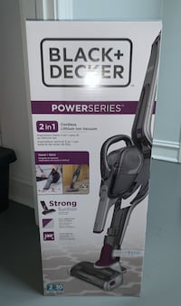 Black & Decker powerseries 2in1 cordless lithium ion vacuum