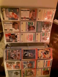 Rare rookie card collection.