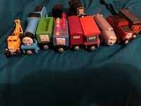 12 for each train 9 for each troublesome trucks Milford, 18337