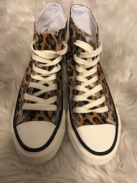 Sneakers leopard print size 7(38 eur) NEW Los Angeles, 90046