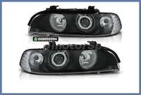 FAROS SERIE 5 E39/SEDAN/FAMILIAR NEGRO MADRID