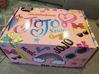 JOJO SIWA SPRING 2020 SUBSCRIPTION BOX. IT IS NEW AND ALL ITEMS INSIDE