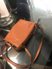 brown and black leather shoulder bag Guelph, N1E 7H6