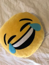 Yellow and black emoji pillow Colorado Springs, 80923