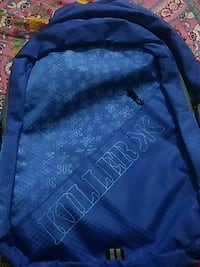 blue and white floral Killer-printed backpack Mumbai