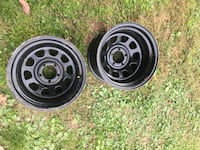 3black rims Will wash and clean rims before selling  Gaithersburg, 20882