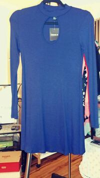 Dark blue soft and comfortable dress size small