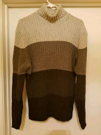 New! XL Three Tone Brandini Turtleneck  Baltimore, 21244