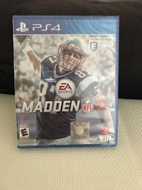 Madden NFL 17 PS4 game Broadlands, 20148