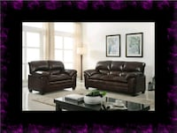 Burgundy sofa and loveseat Ashburn, 20147