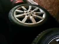 S550 Mercedes wheels  and tires Nottingham, 21236