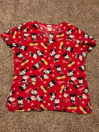 red and white floral crew-neck shirt Buffalo, 14224