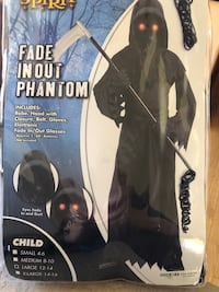 Fade in and out eyes phantom costume