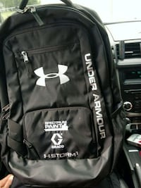 black and white Adidas backpack Claremore, 74017