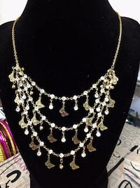 beautiful chain layer necklace
