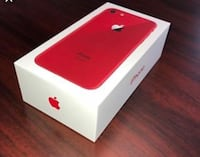 Product Red iPhone 7 box Toronto, M1G 1R5