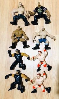 Jakks Pacific WWE WWF ECW WCW Maximum Sweat Figures and more Milton, L9T 5A7