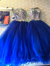 Blue Sequin Prom Dress Oxon Hill, 20745