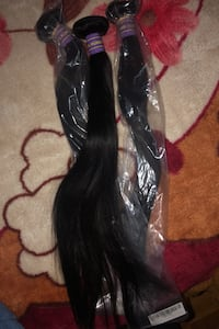 3 straight BUNDLES 20inches GOOD QUALITY HAIR