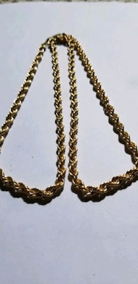10k gold rope necklace Calgary, T3K 0P6