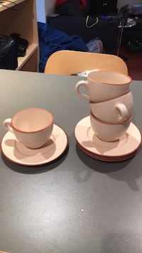 Tea cups and saucers Toronto, M6S 2Y6