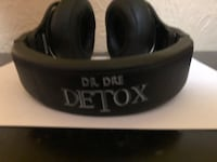 Black dr. dre detox wired headset