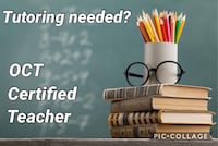 Tutor (Certified Teacher 20+ years) Vaughan