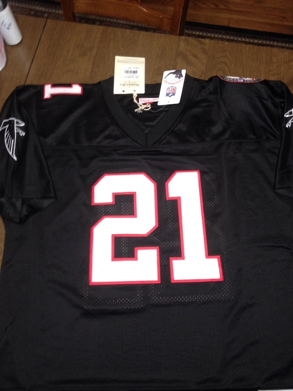 sports shoes 18067 6d76a Atlanta Falcons 25th anniversary Deion Sanders jersey New With Tags med -  2xl