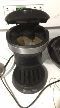 black and gray electric kettle Burke, 22015