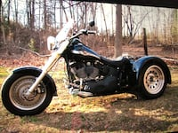 Harley Davidson 2003 Softail Night Train trike with electric reverse! Big Pool, 21711