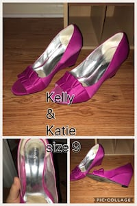 Kelly & Katie pink wedges East Cocalico, 17578