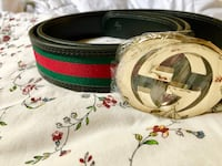 Two green and red gucci belts Hamilton, L9B 2M5