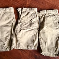 two gray and brown shorts Foley, 36535