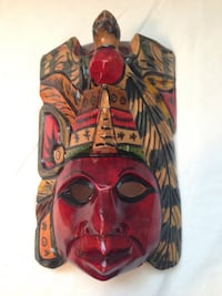 Hand carved Native Indian Mask Naples, 34109