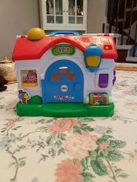 white, red, and blue Fisher-Price playhouse toy Innisfil